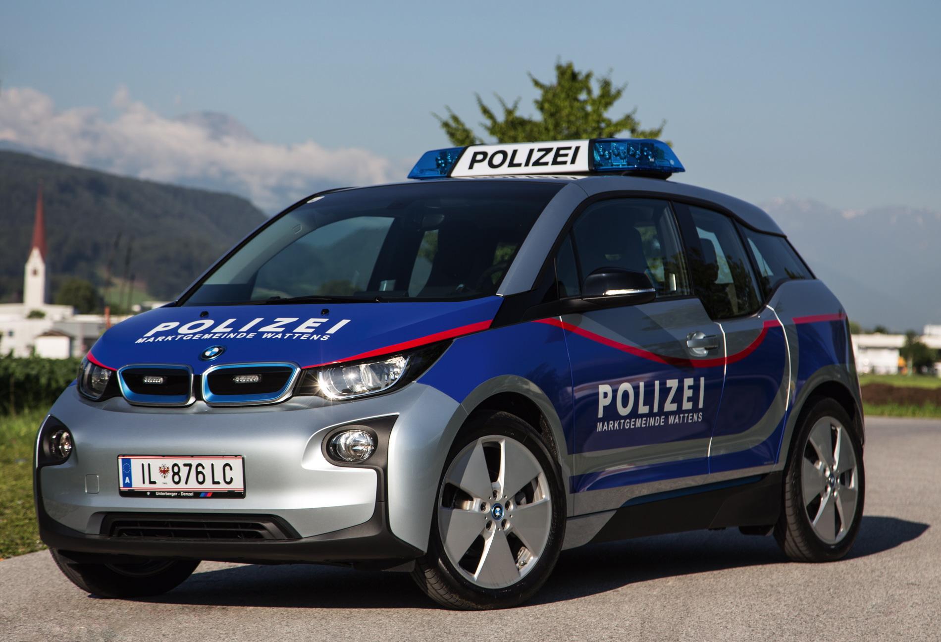 BMW i3 Police Cars Austria 1