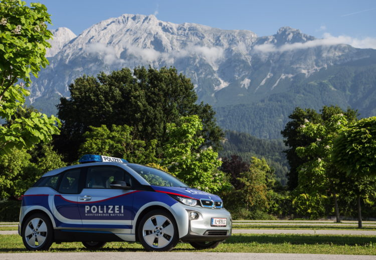 BMW i3 Police Cars Austria 2 750x519