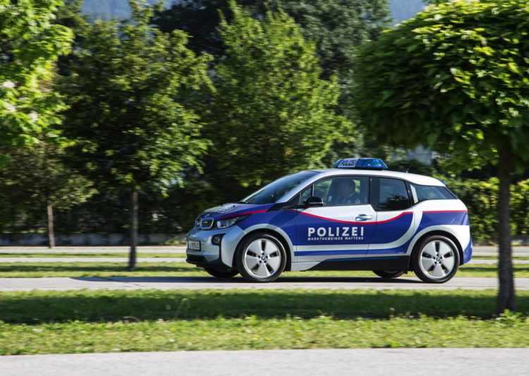 BMW i3 Police Cars Austria 4 750x533