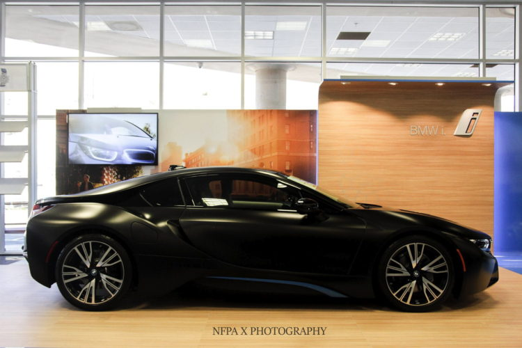 Bmw I8 Shines In Frozen Black