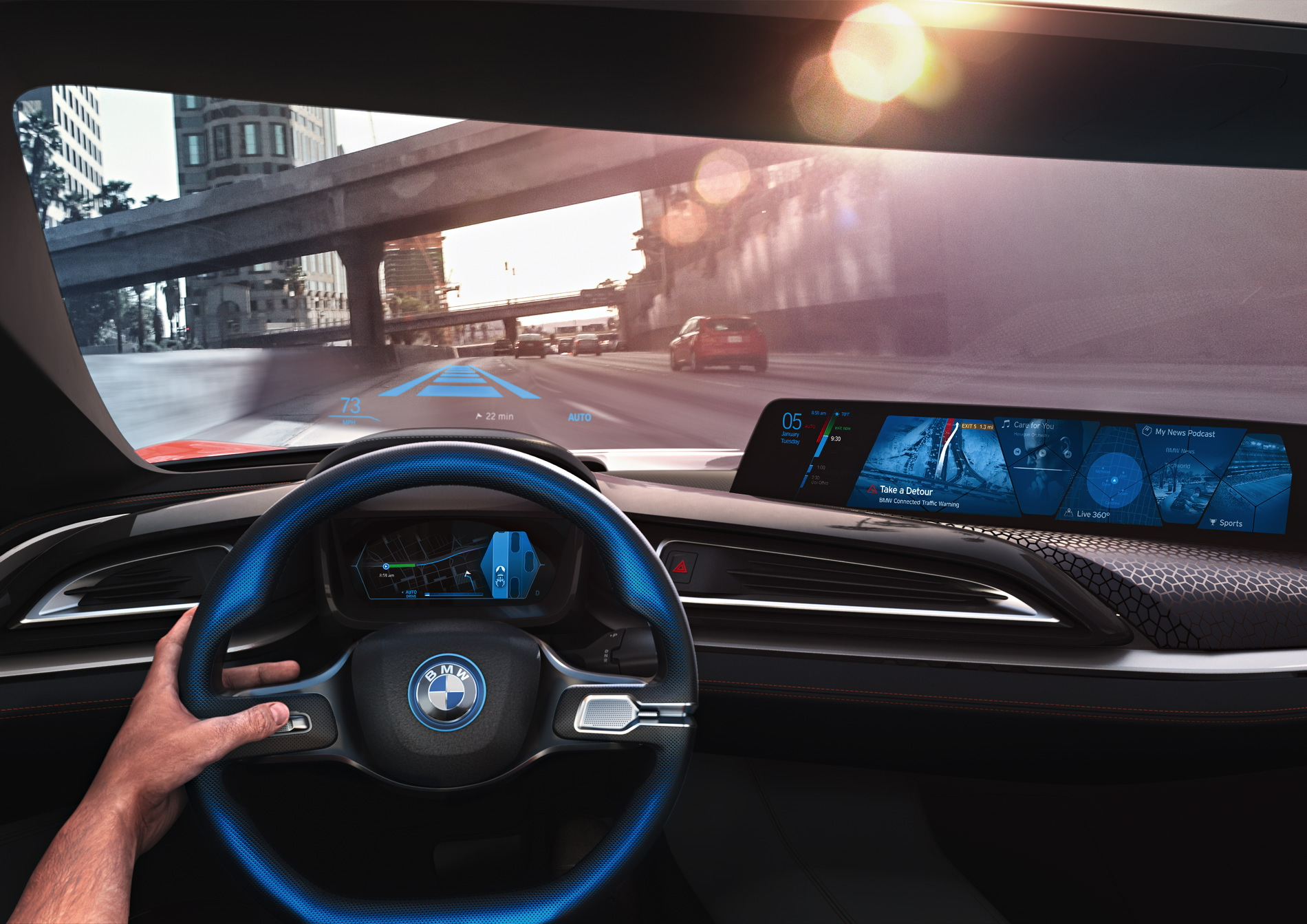 BMW self driving car 2021 1