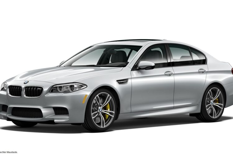 BMW M5 Pure Metal Silver Limited Edition 1 750x500