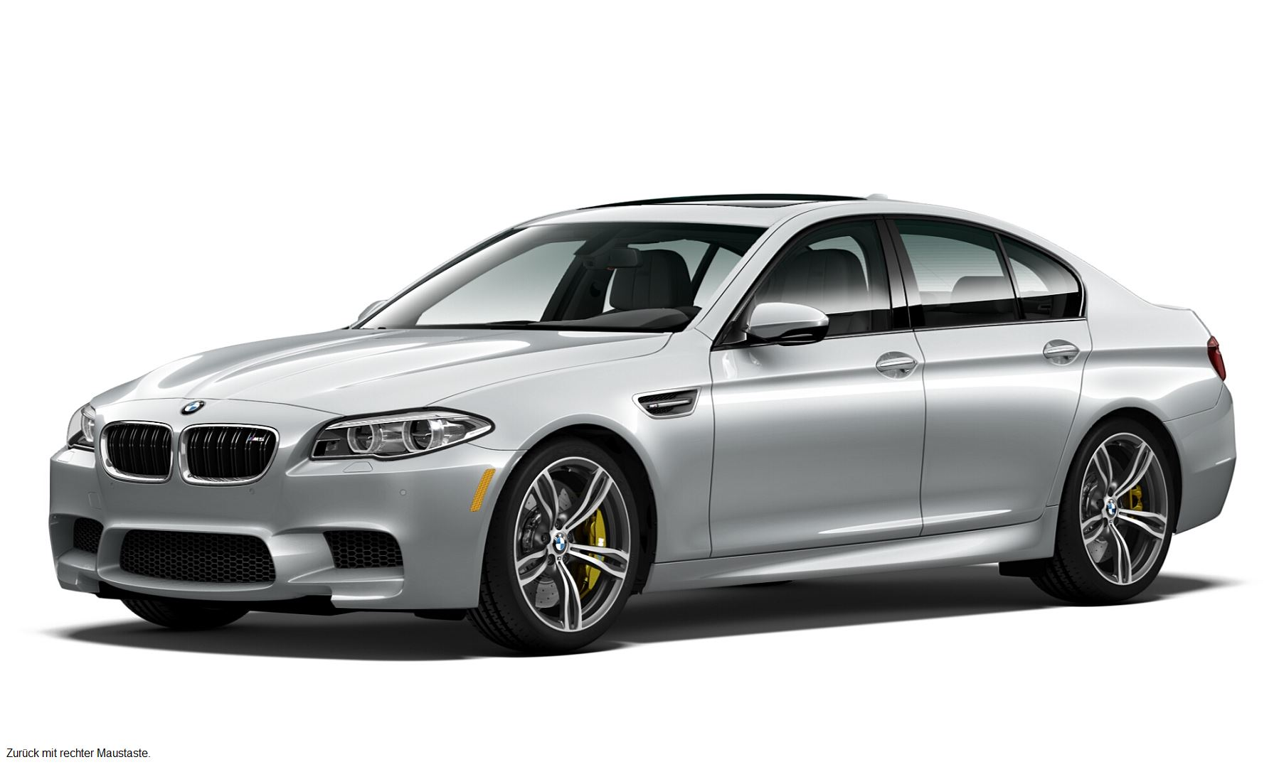 BMW M5 Pure Metal Silver Limited Edition 1