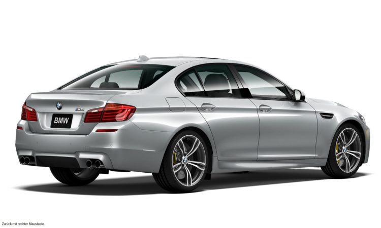 BMW M5 Pure Metal Silver Limited Edition 2 750x450