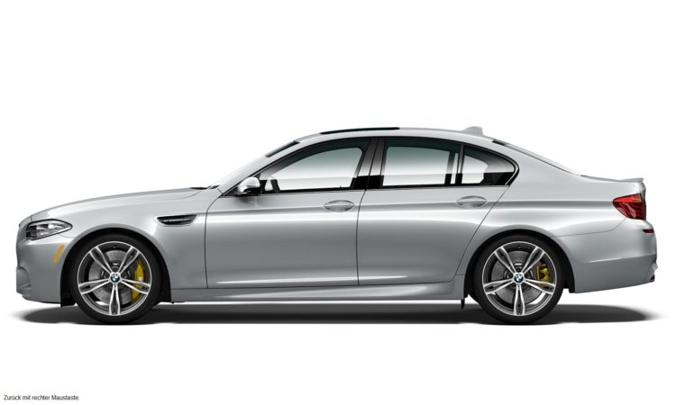 BMW M5 Pure Metal Silver Limited Edition 3 750x450