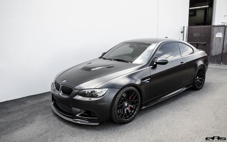 Frozen Black BMW M3 4 750x469
