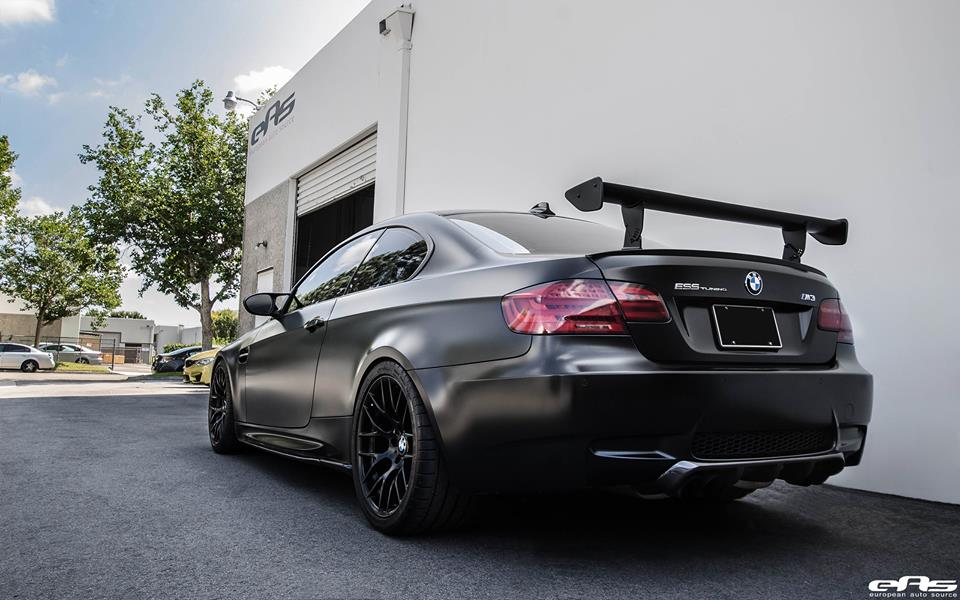 Frozen Black Bmw E92 M3 Has Menacing Looks And Over 600 Hp