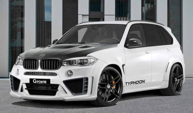 G Power Bmw X5 M Typhoon Delivers 750 Horsepower