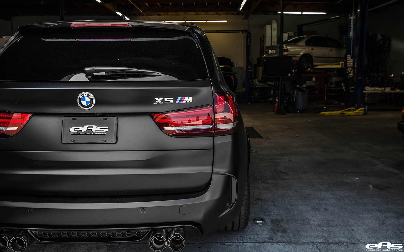 Bmw All Models List >> Matte Black BMW X5 M With Some Aftermarket Goodies