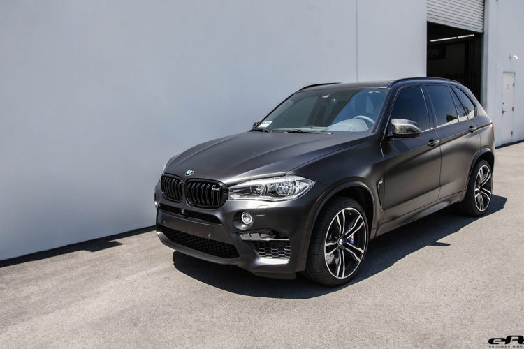 Matte Black Bmw X5 M Gets Some Aftermarket Goos Installed 27 750x500