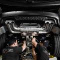 Matte Black BMW X5 M Gets Some Aftermarket Goodies Installed