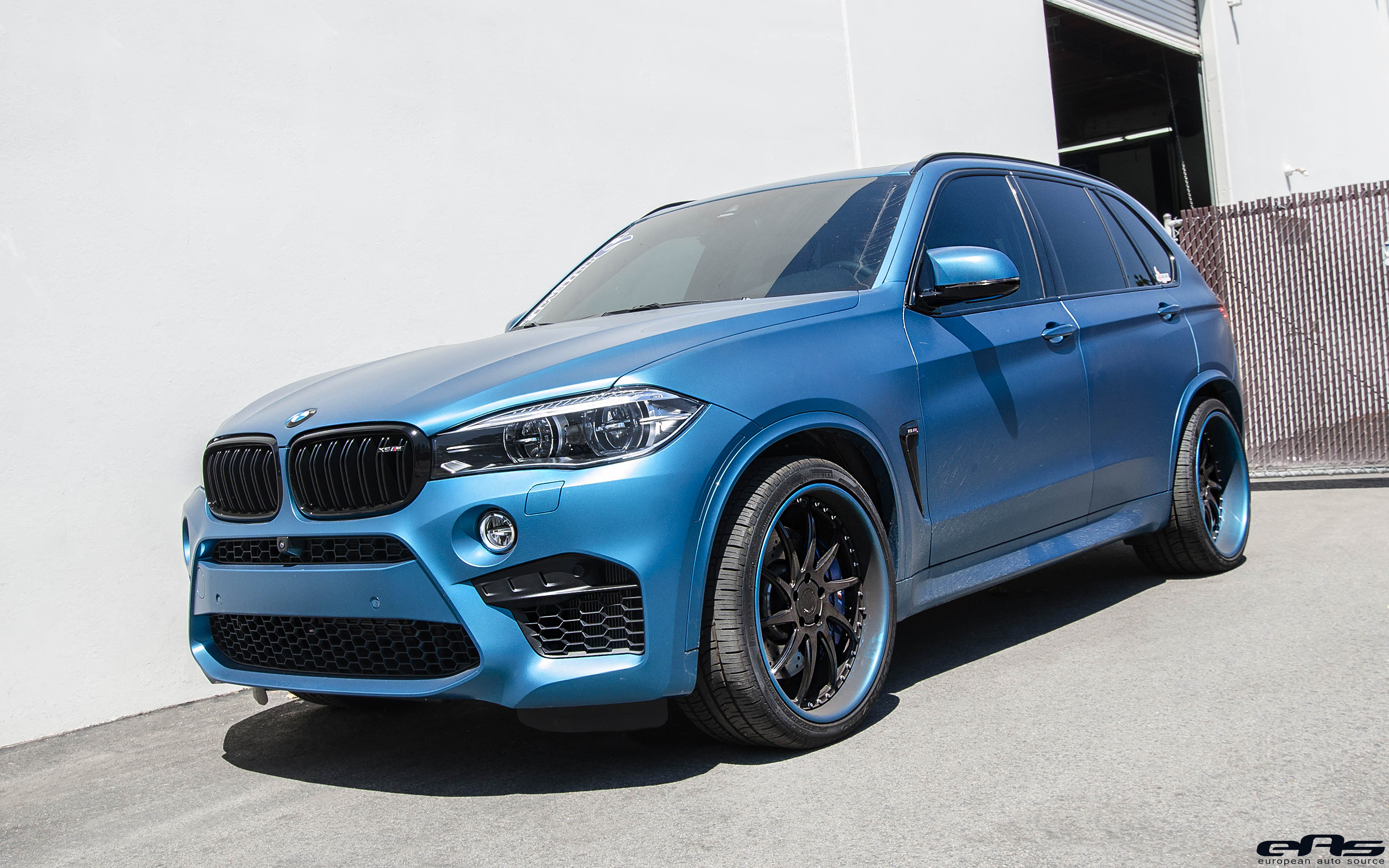 Matte Bluw BMW X5 M Build Showcase 11