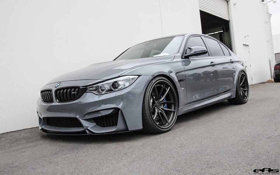 Beautiful Nardo Grey Bmw M3 Gets Upgraded