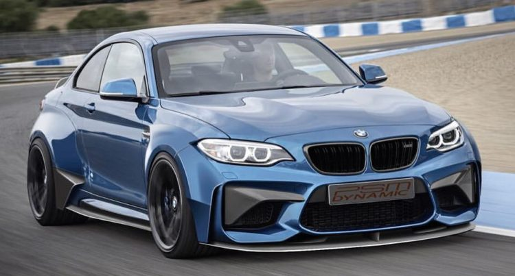 psm dynamic previews the bmw m2 widebody kit. Black Bedroom Furniture Sets. Home Design Ideas