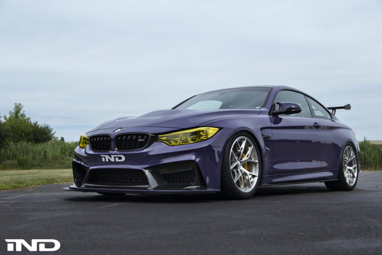 Purple BMW M4 Build By IND DIstribution 1 750x500