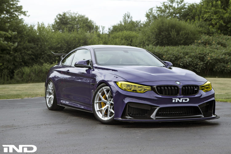 Purple BMW M4 Build By IND DIstribution 11 750x500