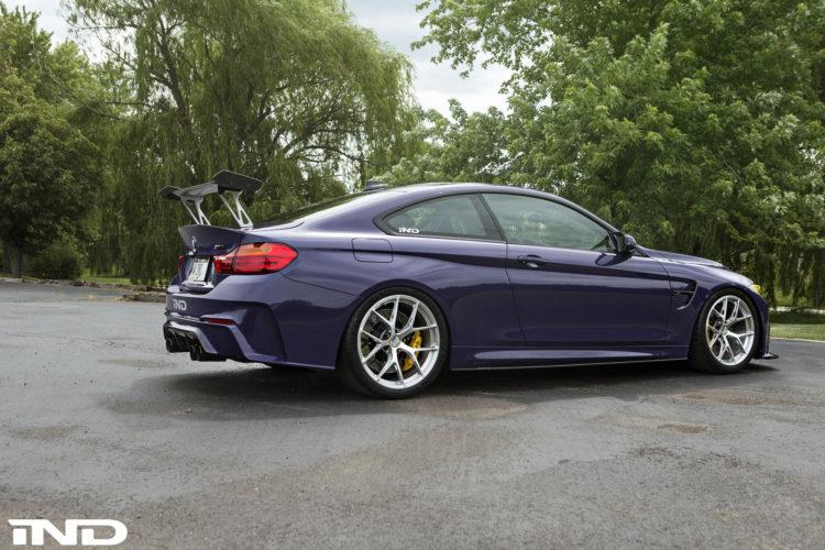 Purple BMW M4 Build By IND DIstribution 2