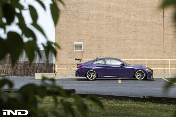 Purple BMW M4 Build By IND DIstribution 6 750x500