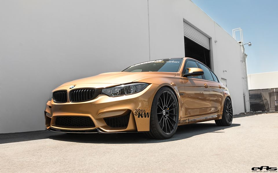 Sunburst Gold BMW M3 7