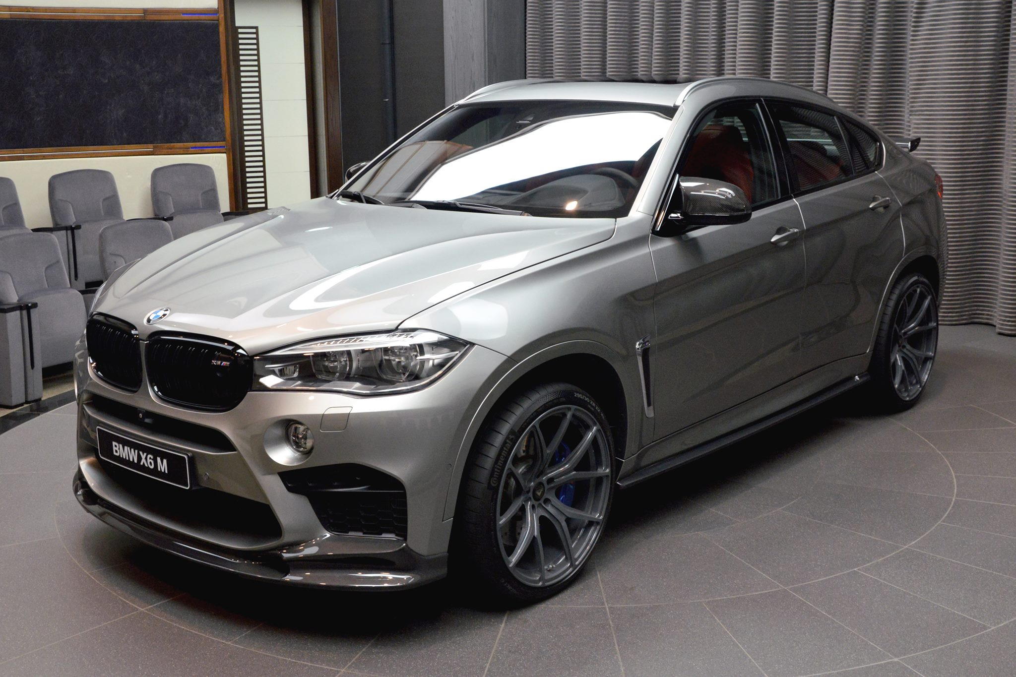 Bmw X6 M Delivered In Abu Dhabi Decked With Aftermarket