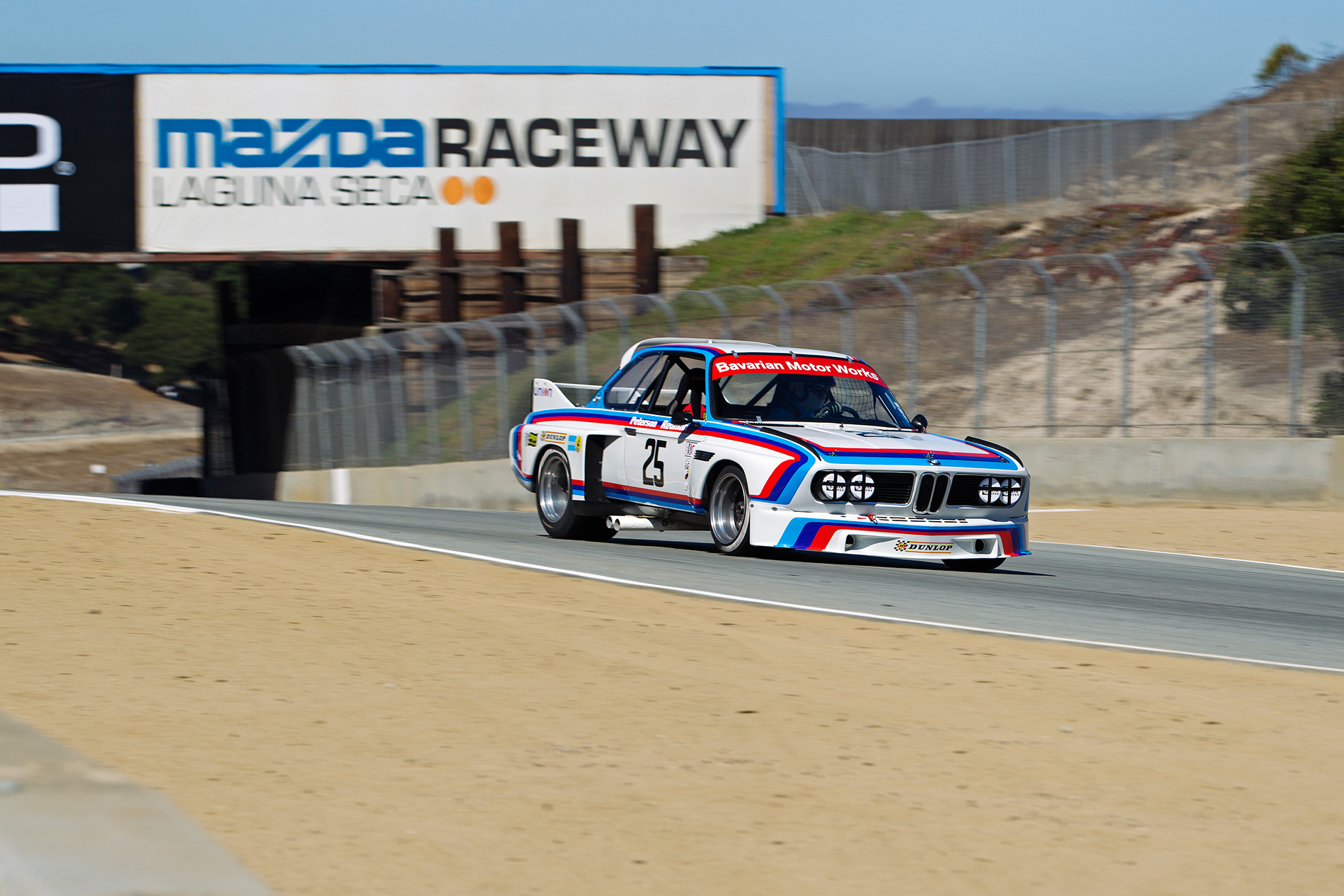 1975 BMW 3.0 CSL IMSA Group 4 No. 25