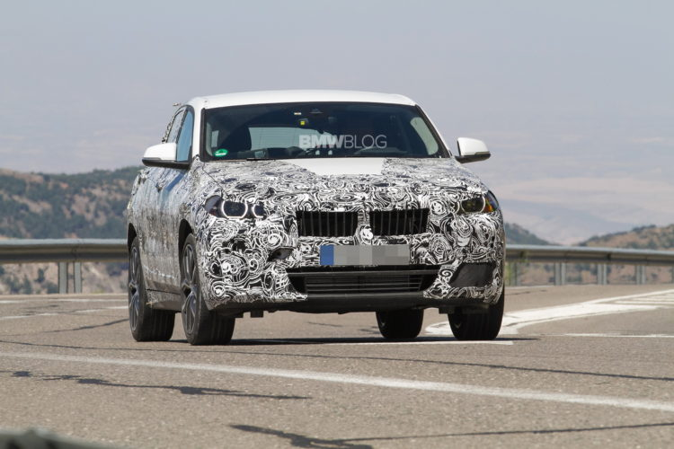 2017 BMW X2 spy photo 1 750x500