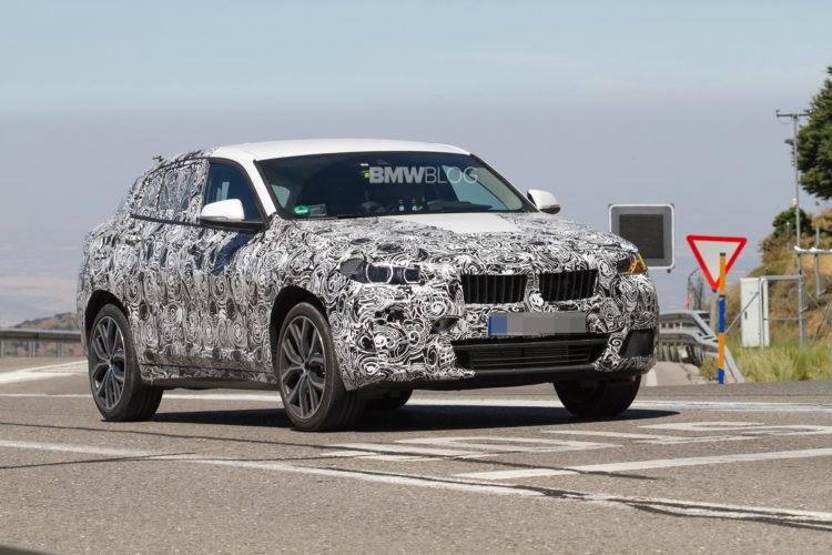 2017 BMW X2 spy photo 2 750x500