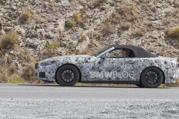 2018 BMW Z4 spy photos 2 750x500