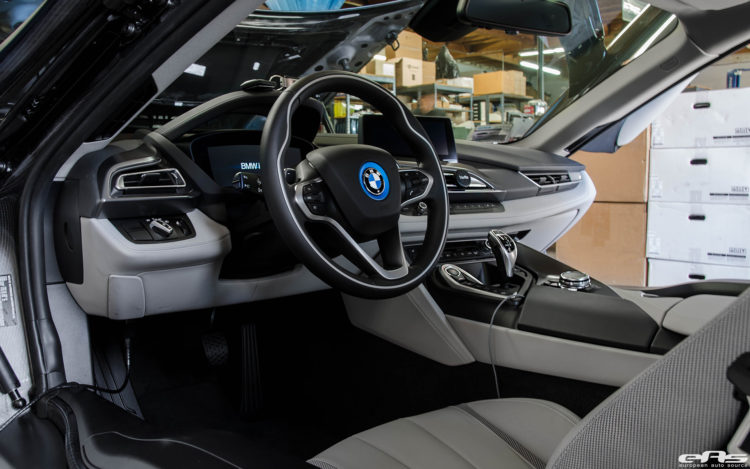 A Sophisto Grey BMW i8 Visits European Auto Source 11 750x469