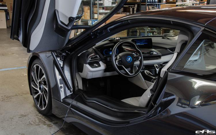 A Sophisto Grey BMW i8 Visits European Auto Source 7 750x469