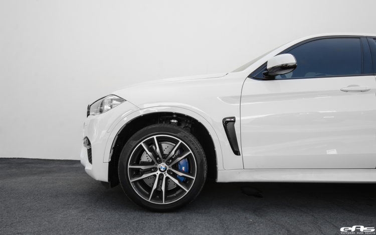 Alpine White BMW X6 M Build By European Auto Source 17