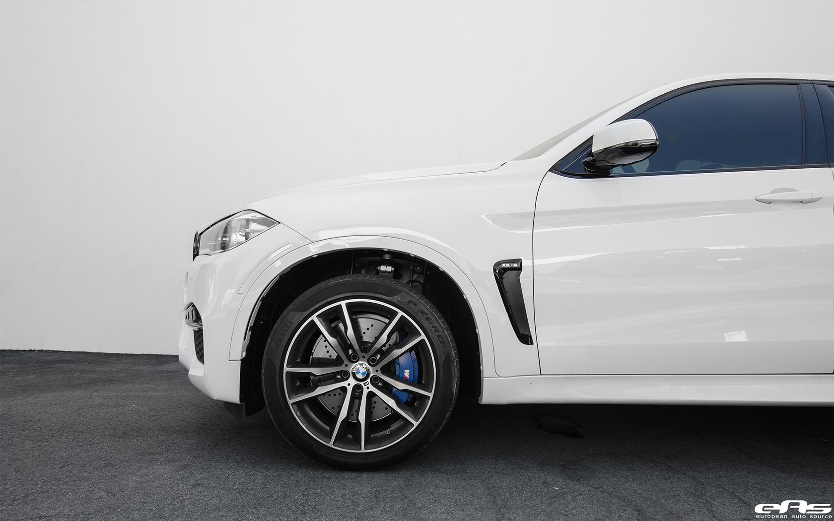 Alpine White BMW X6 M Build By European Auto Source 17