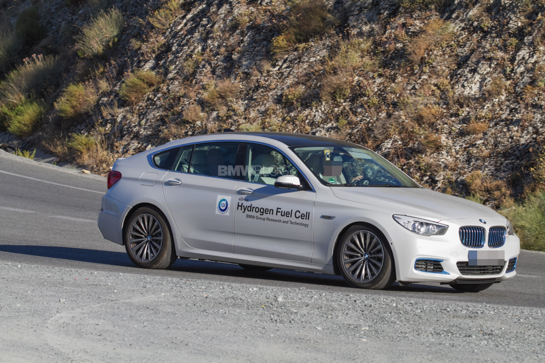 BMW 5 Series GT fuel cell prototype 2
