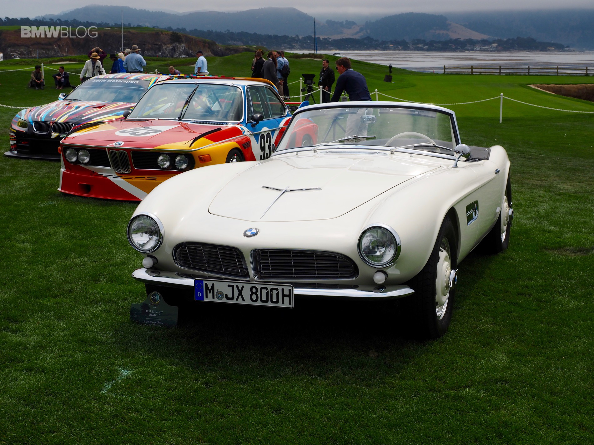 BMW 507 Pebble Beach 1