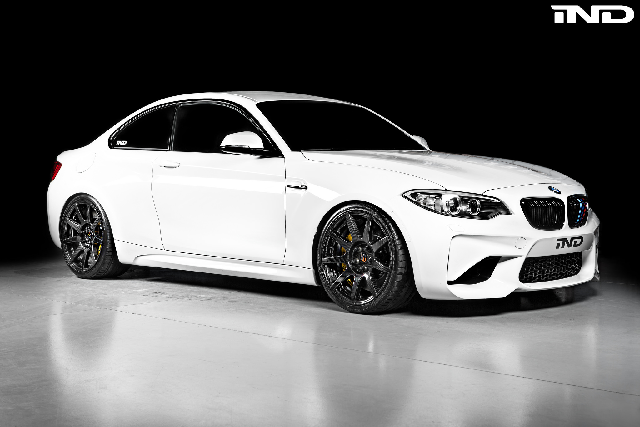 BMW M2 Upgraded With Carbon Fiber Wheels 4