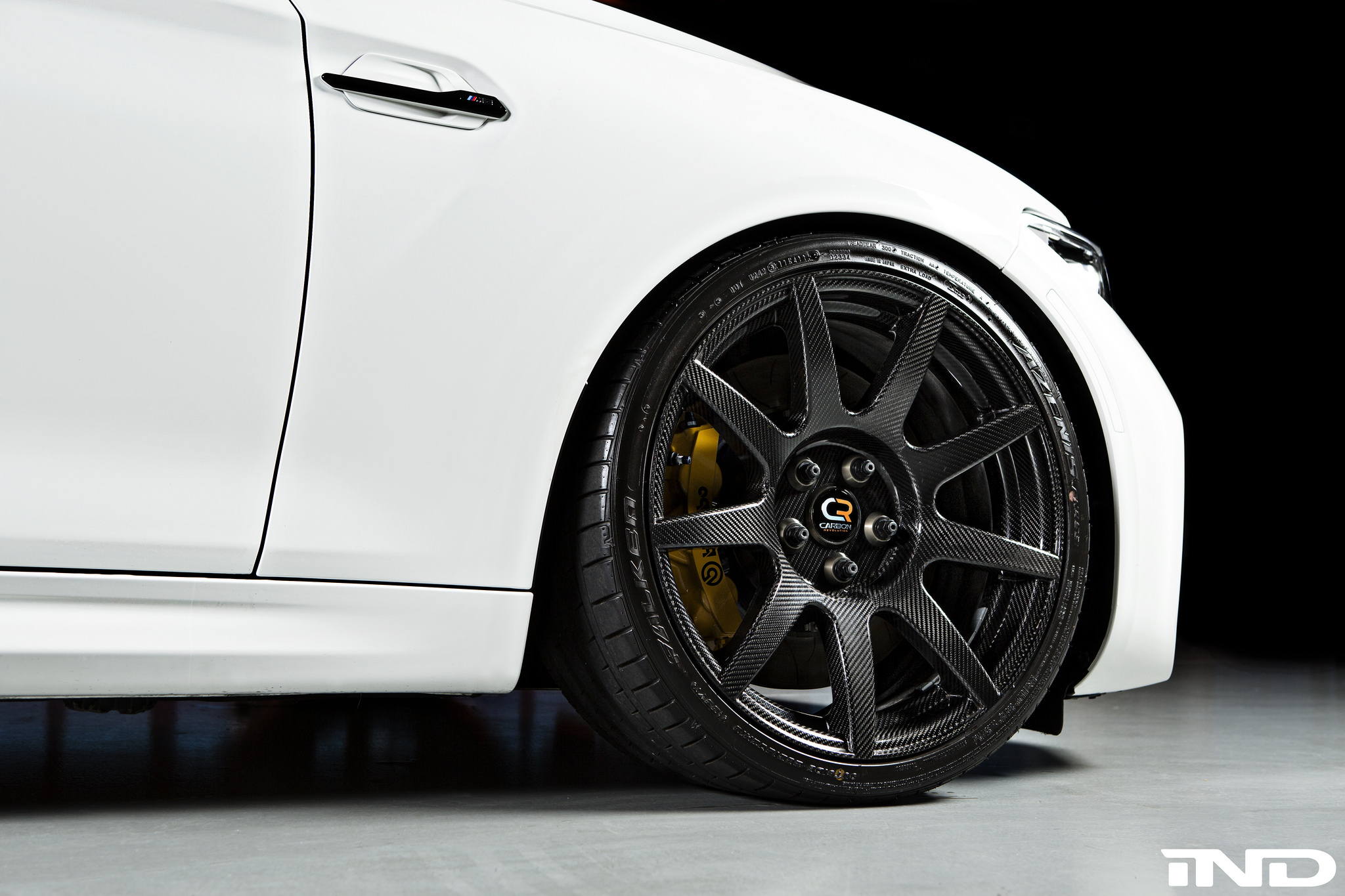 Alpine White Bmw M2 Upgraded With Carbon Fiber Wheels