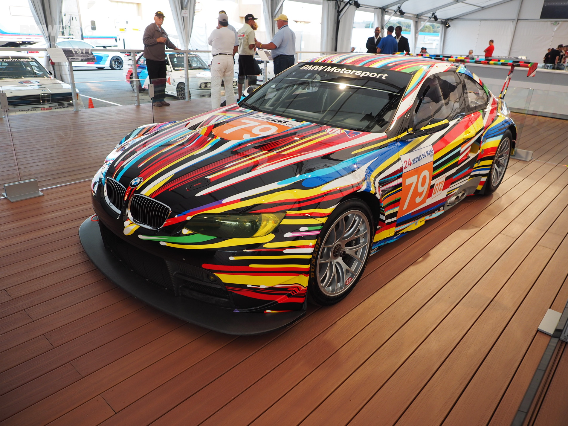 BMW M3 GT2 Art Car Laguna Seca 11