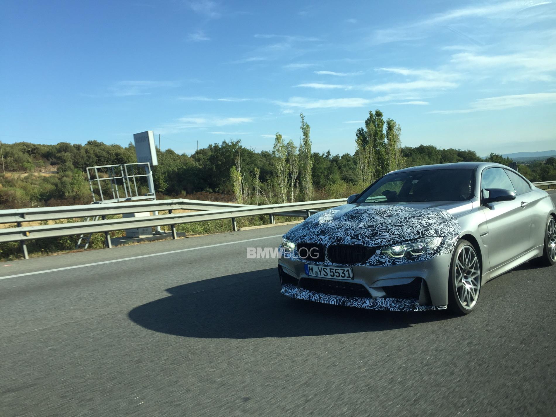 BMW M4 facelift 2