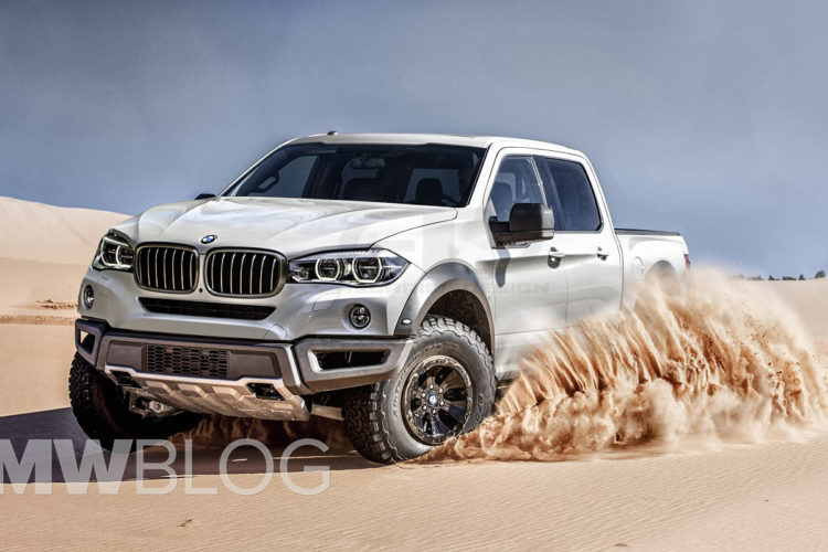 This Bmw Pickup Truck Could Play In Quot Transformers Quot