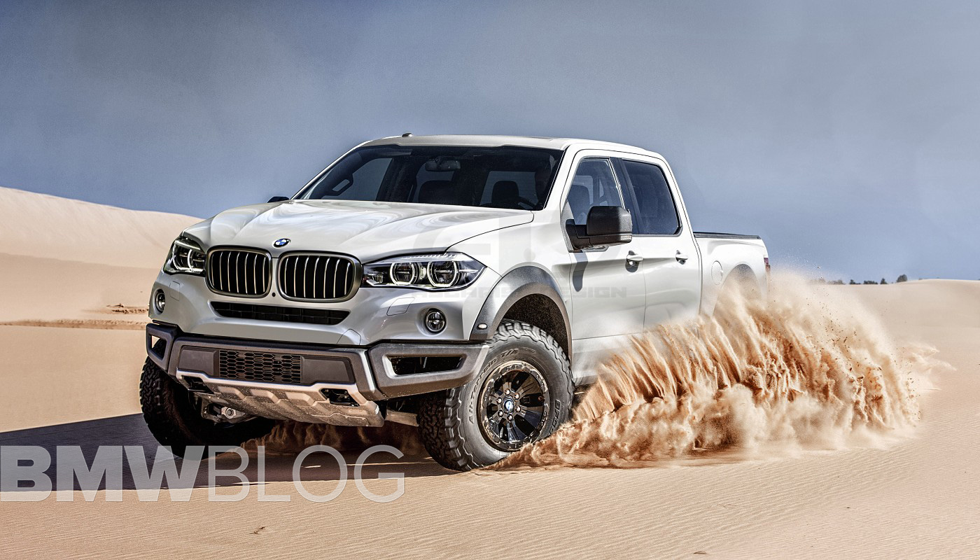 this bmw pickup truck could play in transformers. Black Bedroom Furniture Sets. Home Design Ideas