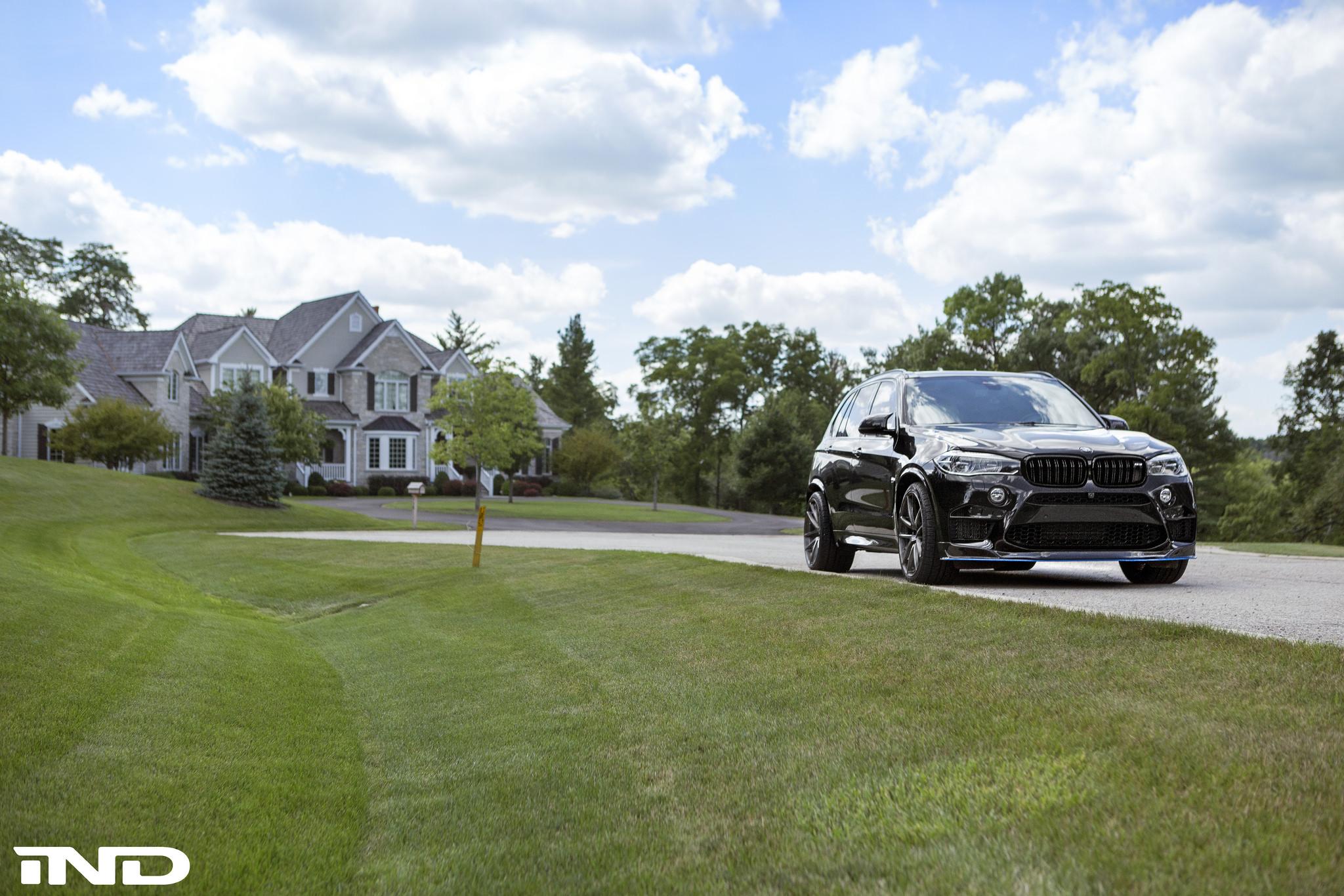 Black Sapphire Metallic BMW F85 X5M By IND Distribution 13