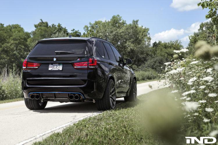 Black Sapphire Metallic BMW F85 X5M By IND Distribution