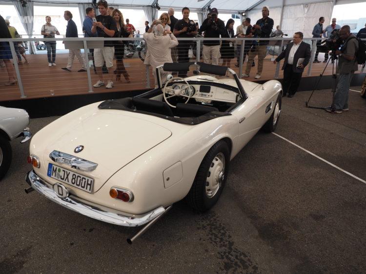 Elvis Presley BMW 507 launch 3 750x563