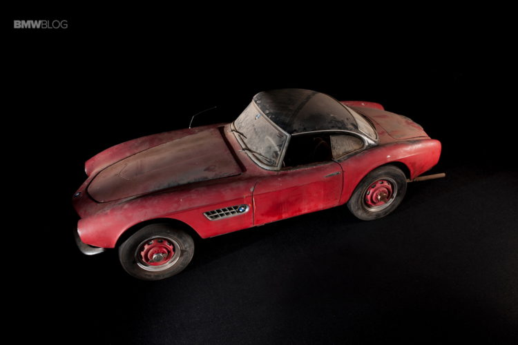 Elvis Presley BMW 507 restored 1 750x500