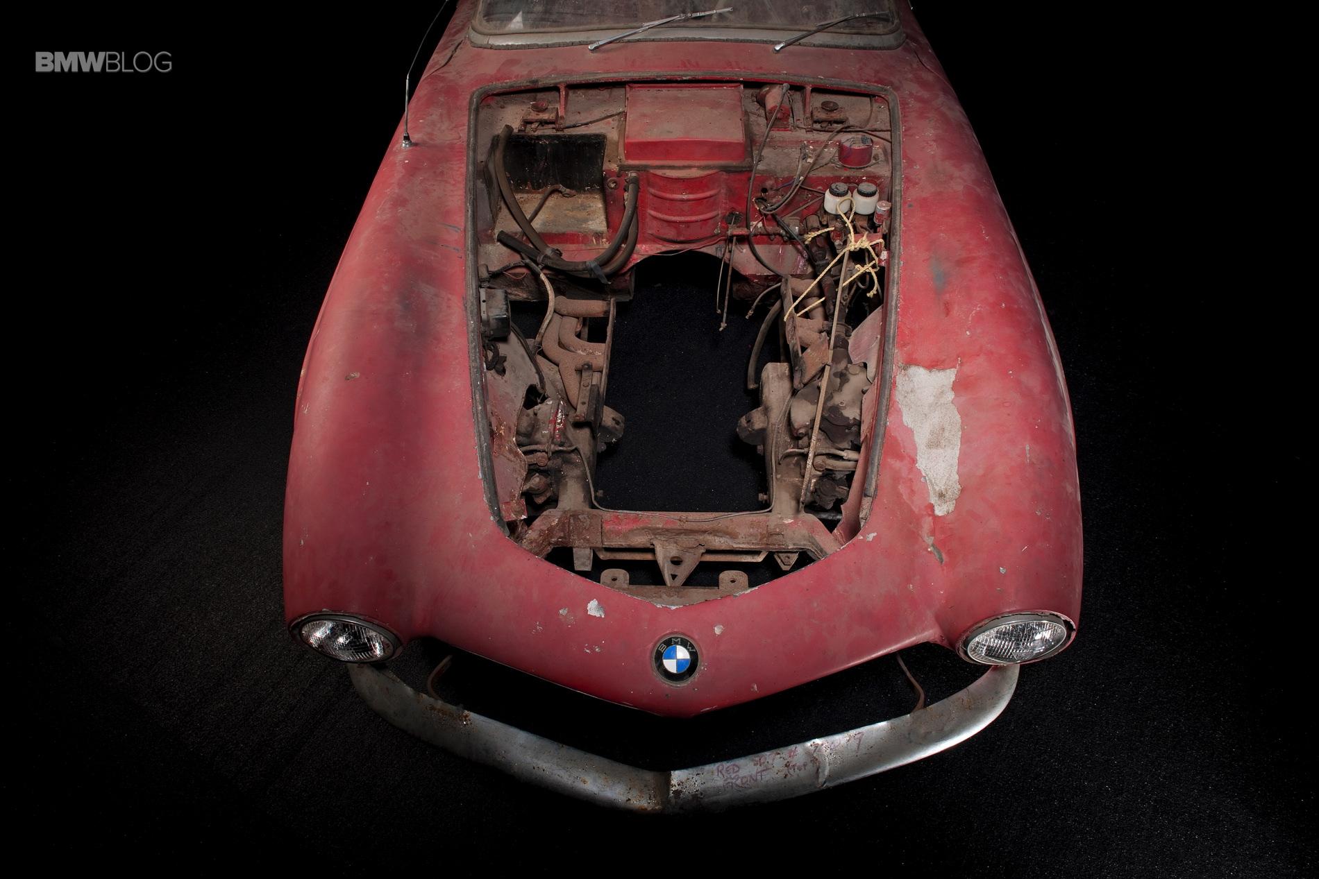 Elvis Presley BMW 507 restored 3