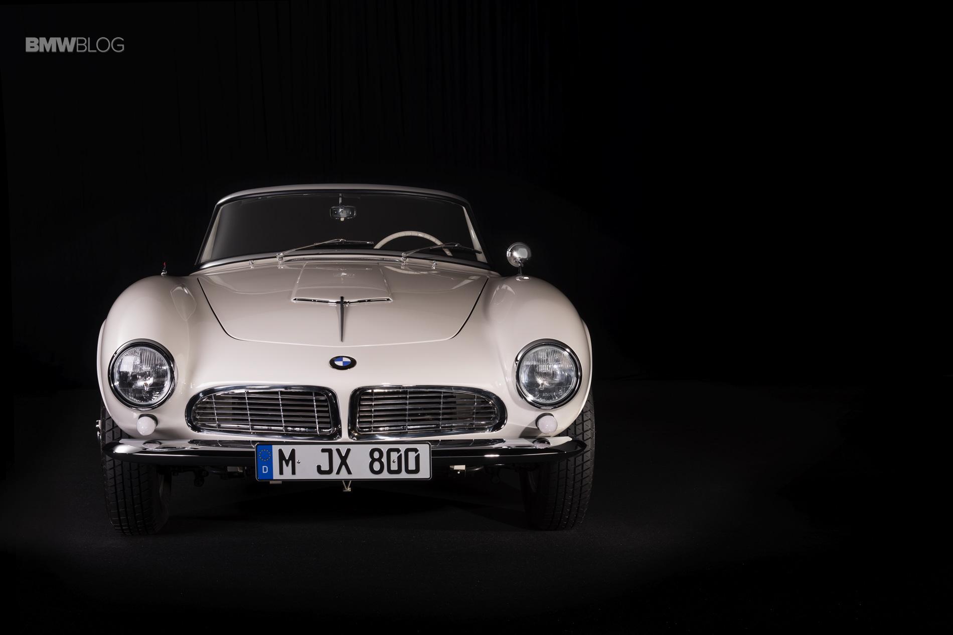 Elvis Presley BMW 507 restored 34