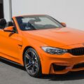 Fire Orange BMW M4 Convertible 0 120x120