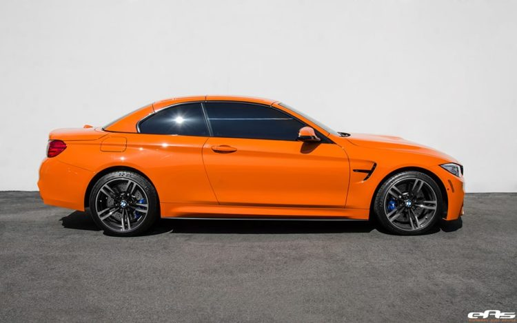 Fire Orange BMW M4 Convertible 13 750x469