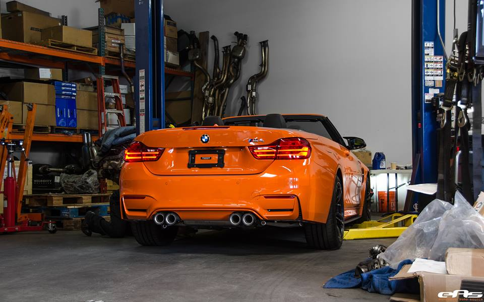 Fire Orange BMW M4 Convertible 15