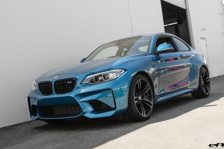 Long Beach Blue Metallic Bmw M2 Gets An M Performance Exhaust